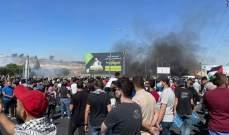 اشتباكات مسلحة بين فلسطينيين وقوات إسرائيلية على حاجز بيت إيل بالبيرة بالضفة الغربية