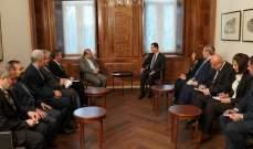 الأسد لخاجي: معركة إدلب هدفها القضاء على الإرهاب الذي يهدد أمن المواطنين السوريين