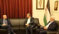 دبور عرض الاوضاع في المخيمات الفلسطينية مع المدير العام للاونروا