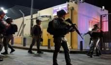 القوات الإسرائيلية اعتقلت 14 فلسطينيا في مناطق متفرقة بالضفة الغربية