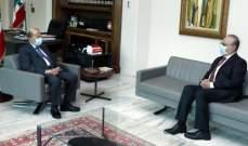 وهاب بعد لقائه الرئيس عون: شكرته على موقفه من حكومة العشرين وزيرا