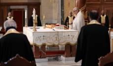 كنائس احتفلت بالفصح والشعانين بغياب المؤمنين: للصلاة للقضاء على كورونا