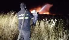 الدفاع المدني: إخماد حريق اعشاب يابسة في غادير- كسروان