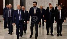 """كتلة """"اللقاء الديمقراطي"""" تمسي نواف سلام لرئاسة الحكومة"""