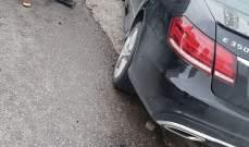 النشرة: جريح بحادث سير على اوتوستراد النبطية حبوش مقابل شركة الفا