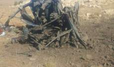 النشرة:قتيل وجريح نتيجة إنفجار لغم في بيك آب بمنطقة المجر بجرود عرسال