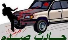 قتيل نتيجة حادث صدم على اوتوستراد البداوي باتجاه طرابلس