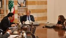 مصادر للنشرة: مجلس الوزراء قرر إقامة صندوق موحد لجمع التبرعات لإعادة الاعمار