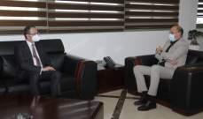 وزير الصحة بحث مع سفير تركيا في لبنان بسبل تعزيز التعاون الصحي
