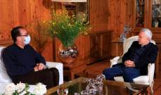 فرنجية بحث مع فوشيه الخطة الاقتصادية والاوضاع