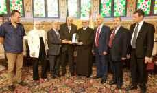 الجمعية الوطنية البيروتية تقدّم درع الجمعية لمفتي الجمهورية