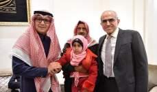 بخاري أطلق مبادرة أمنية لمساعدة مخيم النازحين السوريين في عرسال