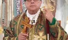 المطران درويش: نرفع الدعاء ليرافق المسيح حياتنا ويهدئ اضطراب نفوسنا