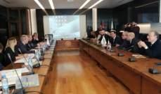 جلسة في AUL مع 4 جامعات روسية للبحث العلمي وتبادل الخبرات