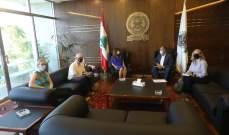 عكر بحثت مع وفد من مؤسسات دولية إنسانية طرق تقديم المساعدات إلى لبنان