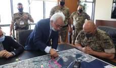 قائد الجيش تفقد إدارة مرفأ بيروت: لتكثيف الجهود سريعا لإعادة العمل به وسنبقى دوما إلى جانب الشعب