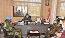 الكتيبة الهندية تقدم مواد طبية لمكافحة فيروس كورونا لبلدية الرميش