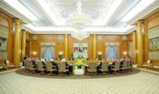 حكومة السعودية: لتوفير الحماية الدولية لشعب فلسطين والوصول إلى حل سياسي للأزمة السورية