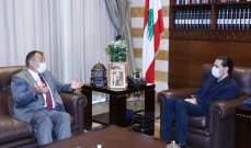 الحريري التقى السفير البلغاري وعرض الاوضاع العامة