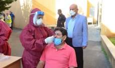 فريق مستشفى سبلين الحكومي يجري 355 فحص PCR في قرى إقليم الخروب