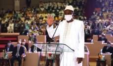 رئيس غينيا أدى اليمين الدستورية وحض على التوجه نحو مستقبل من الوحدة والأمل