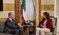 """الحسن بحثت مع رئيس """"DCAF"""" في كيفية تعزيز التعاون بموضوع السجون"""