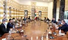الرئيس عون ترأس اجتماعا خصص للبحث بإعادة إعمار العاصمة