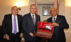 وزير الزراعة البلغاري يزور غرفة صيدا ويؤكد على التعاون الزراعي المشترك
