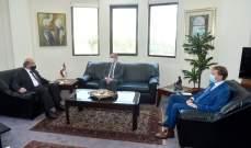 وهبة بحث مع سفير النروج العلاقات الثنائية بين البلدين
