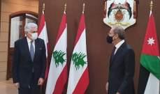 حتي: إلتقيت نظيري بالأردن وبحثنا التعاون والأزمة السورية والضم الإسرائيلي