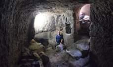 العثور على أنفاق في بلدة يهودية بالجليل تعود الى الحقبة الرومانية