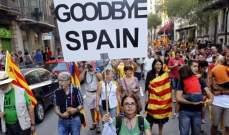 أعمال عنف في كتالونيا تزامنا مع ذكرى فشل إعلان الاستقلال عن إسبانيا