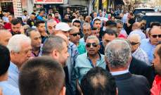 سعد يعزي بحسين شلهوب وسناء الجندي معيداً التأكيد على رفض قطع الطرقات