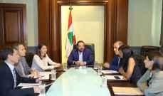 سفيرة الاتحاد الأوروبي كريستينا لاسن تلتقي الحريري