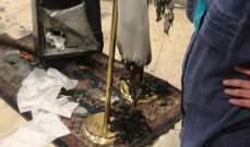 مجهولون أحرقوا مكاتب المنطقة الاقتصادية الخاصة في طرابلس