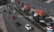 التحكم المروري للنشرة:قطع الطريق من شارل حلو للبيال بسبب تدريبات الجيش