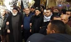"""""""النشرة"""": تظاهرات حاشدة في المخيمات الفلسطينية في لبنان"""