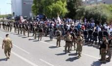 العسكريون المتقاعدون أنهوا إعتصامهم على طريق القصر الجمهوري