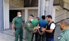 حرس بيروت أوقف عدد من السارقين في الجميزة ومار مخايل