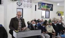 فصائل العمل الوطني الفلسطيني ترعى مصالحة عائلية في مخيم الرشيدية