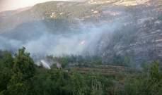 اخماد حريق في خراج بلدة بافليه صور