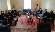 كاريتاس الدولية برئاسة الأب عبود اطلعت المطران سبيتاري على نشاطاتها