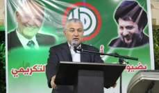 محمد نصرالله: لتضمين البيان الوزاري بندا لمعالجة أزمة الليطاني