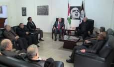 حمدان تمنّى على الرئيس عون والحكومة إعطاء الفلسطينيين في لبنان حقوقهم