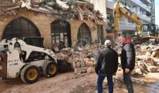 إصابة 9 أشخاص جراء انهيار جزء من فندق في باكستان