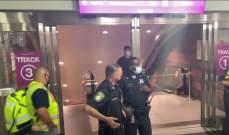 9 أشخاص أصيبوا إثر عطل بسلّم متحرك في بوسطن الأميركية