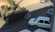 النشرة: اشتباكات في حورتعلا على خلفية ثأرية والجيش يطوق البلدة