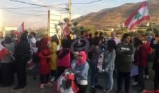 النشرة: اعتصام على مثلث كامد اللوز جب جنين في البقاع الغربي