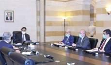 دياب: سيقام سياج معنوي وأمني حول الوسط التجاري في بيروت