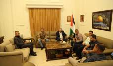 دبور التقى وفداً من اقليم حركة فتح واللجان الشعبية في محافظة جنين